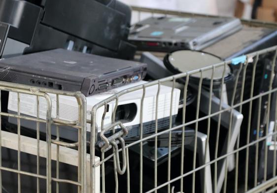 Matériel informatique à recycler