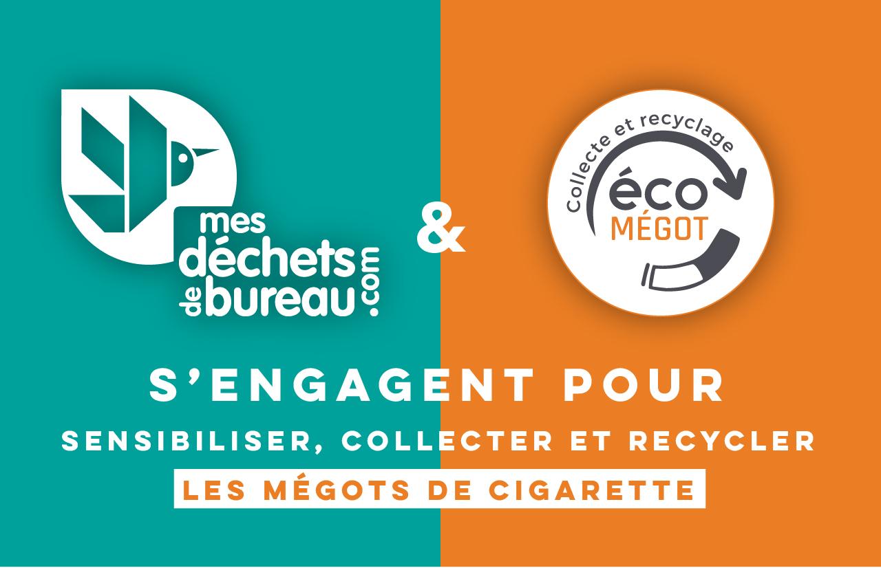 Visuel MDDB & Ecomegot s'engagent pour les mégots de cigarette